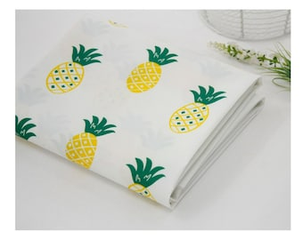 Waterproof Fabric Water-repellent Water Resistant Polyester PU Urethane Coated  Cloth Outdoor _pineapple _ CH980713
