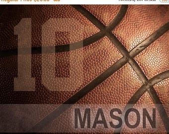 End of July Sale Personalized basketball gifts, Team Gifts, Basketball art, Game room art, Basketball gift, Boys room art, Canvas, teen deco