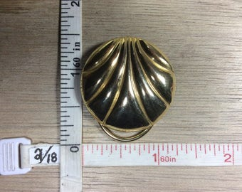 Vintage Gold Toned Sweater Clip Used