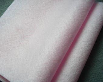 2 felt sheets rose (553)