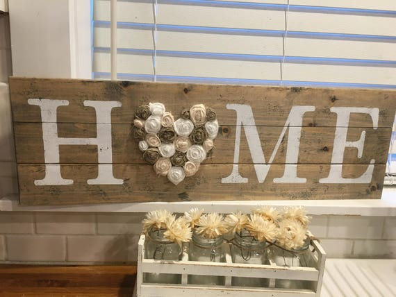Rustic love home decor