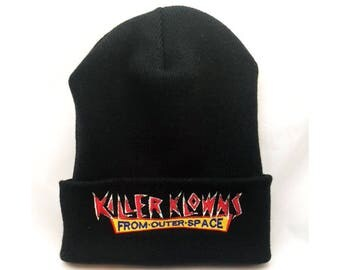 Killer Klowns From Outer Space beanie