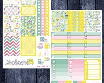 School Days Kit for Erin Condren Life Planner Vertical Layout