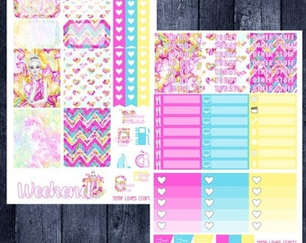 Weekend Sale Bright Day Kit for Erin Condren Life Planner