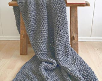 Recycled organic cotton blanket