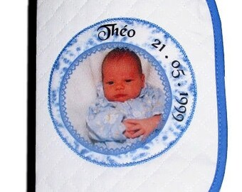 print on textile protects health card for baby
