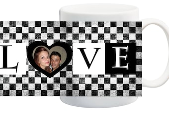 personalized with your photo, an ideal gift mug