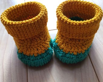 Booties for newborn or 0-3 months