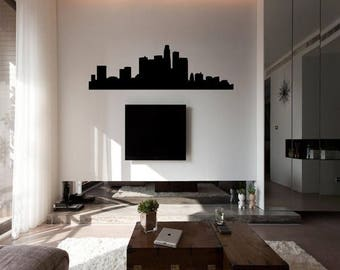 EVERYTHING IS 20% OFF Los Angeles Skyline Wall Decal