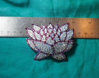 Lotus Blossom Hair Clip/Brooch
