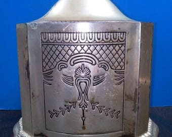 1749 George II Silver Tea Caddy or Tea Box