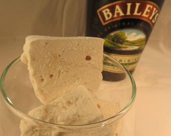 SALE Bailey's Irish Cream Marshmallows  - 1/2 dozen Gourmet homemade marshmallows - St. Patrick's Day