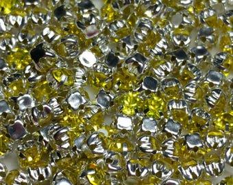 3.5mm Citrine Yellow Box Montee 50 per pack