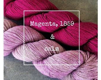 Magenta, 1859 & Calm Yak Attack Pack for Kirsten Kapur's MKAL