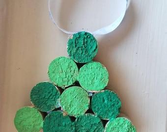 Small Cork Tree Ornament