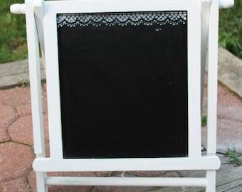 Table Folding Chalk Board