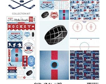 "Echo Park Mini Theme Kit ""Hockey"""