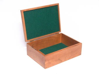 Handmade Cedar and Cherry Wood Box