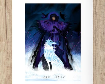 Art print - Jon Snow