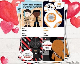 Star Wars Valentine Set