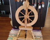 TEMPORARY MARKDOWN!!!! Shamrock Spinning Wheel by BlueBonnet