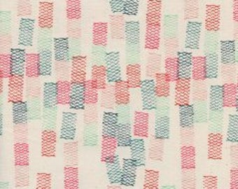 1/2 yard PAPER CUTS by Rashida Coleman-Hale  for Cotton and Steel Toami Spearmint