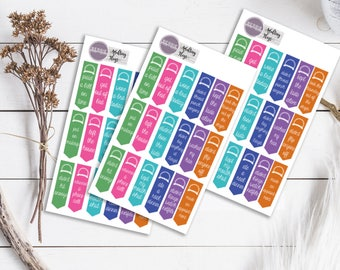 Adulting Ribbons Planner Stickers ECLP Happy Planner KikkiK Filofax minimalist