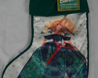 Hallmark Barbie Christmas Stocking Vintage 1996