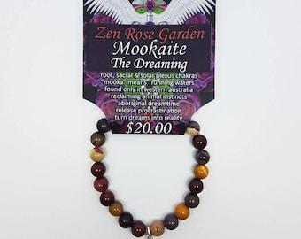 Mookaite, Jasper, Bracelet, Crystal, Gemstone, Jewelry