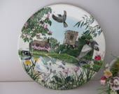 Wedgwood vintage 1990 plateThe Village Pond Decorative plate. Wall Decor. Gift for her. Housewarming gift
