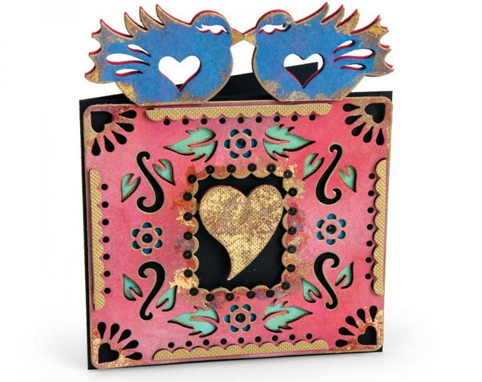 New! Sizzix Thinlits Die - Birds #4 by Crafty Chica 662322