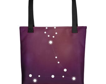 Tote bag - Zodiac Pisces Constellation Tote Bag