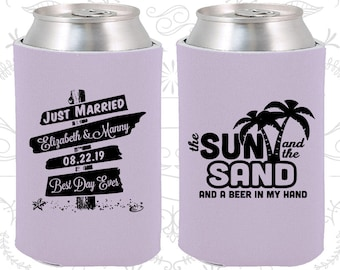 Lilac Wedding, Lilac Can Coolers, Lilac Wedding Favors, Lilac Wedding Gift, Lilac Party Favors (16)