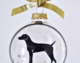 Vizla Ornament.  Dog Gifts for Dog Lovers