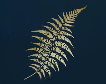 Fern Leaf, Stencil for Art,  ST60