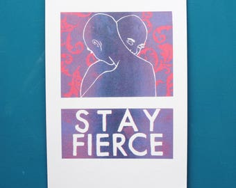 Limited Edition A4 Silkscreen Reproduction Print