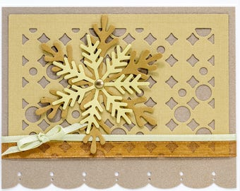 Paper Handmade Greeting Cards, Christmas Cards Handmade, Snowflakes, Paper Note Cards Handmade, Greeting Cards Handmade