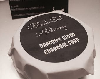 Dragon's Blood Charcoal Soap