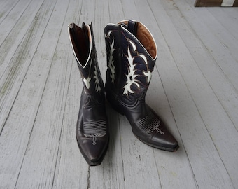 Vintage Boots Handmade The Old Gringo Leather Western Boots