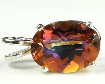 On Sale, 30% Off, Twilight Fire Topaz, 925 Sterling Silver Pendant, SP006