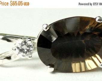 On Sale, 30% Off, Smoky Quartz, 925 Sterling Silver Pendant, SP019