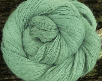 Baby ALPACA, CASHMERE, SILK, Cobweb, Mollycoddle Yarns, Hand dyed wool, Lace, shawl, 100 gms, 1200 mts