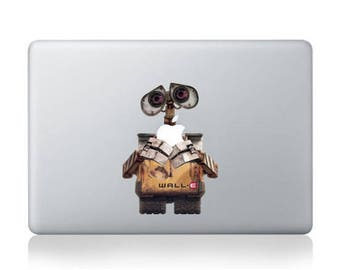 MacBook Wall-E Apple Vinyl decal, sticker for Apple Macbook Air/Pro 15 inch
