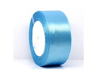 22 clear 250mm in width blue satin ribbons
