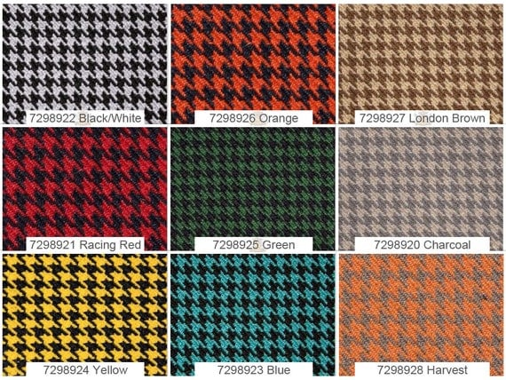 houndstooth automotive retro headliner general upholstery fabric 57 wide sold by the yard from. Black Bedroom Furniture Sets. Home Design Ideas
