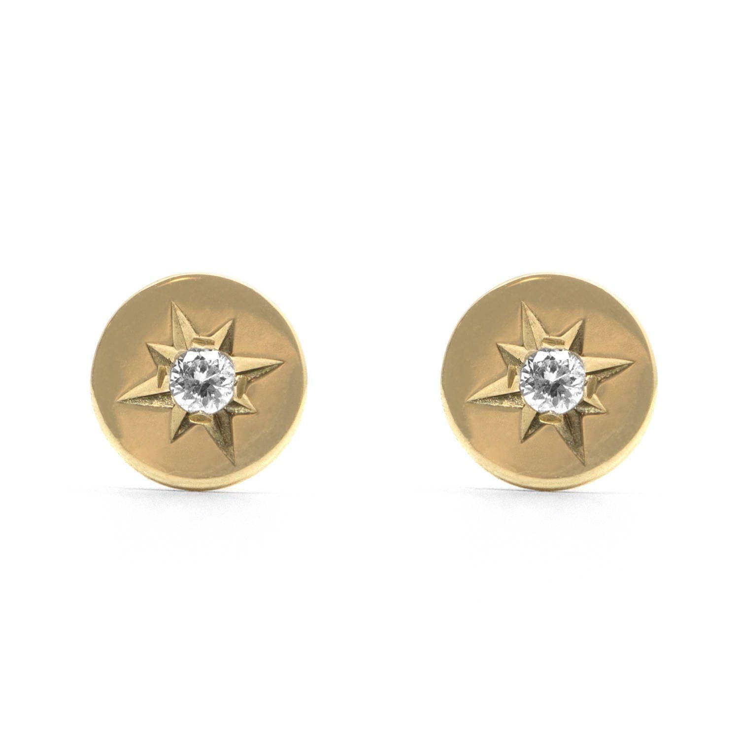 studs earrings and stud tiny pin gold
