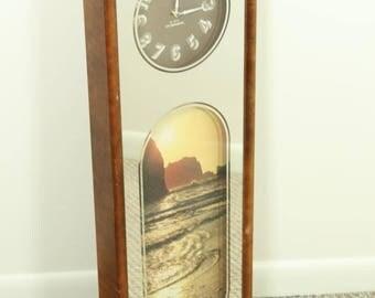 Mirrored Wall Clock mirror wall clock | etsy