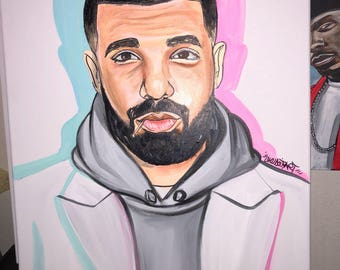 DRAKE MORE LIFE ovo 16x20in