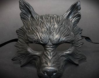 Wolf Halloween Haunted House Props Animal Masquerade Mask