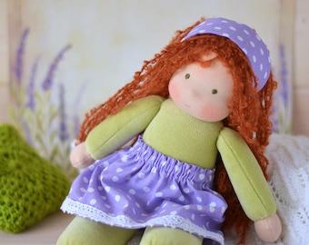 Waldorf doll Pippi Ready to ship
